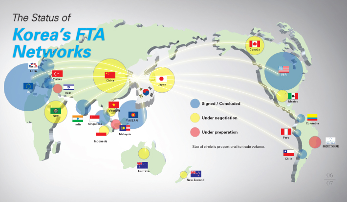 TN Consulting - map FTA